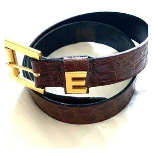 "Escasa ""E"" Belt"